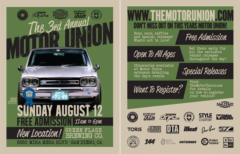 Motor Union flyer