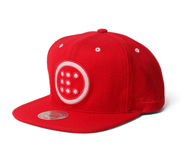 Product Etcetera™ red snapback hat