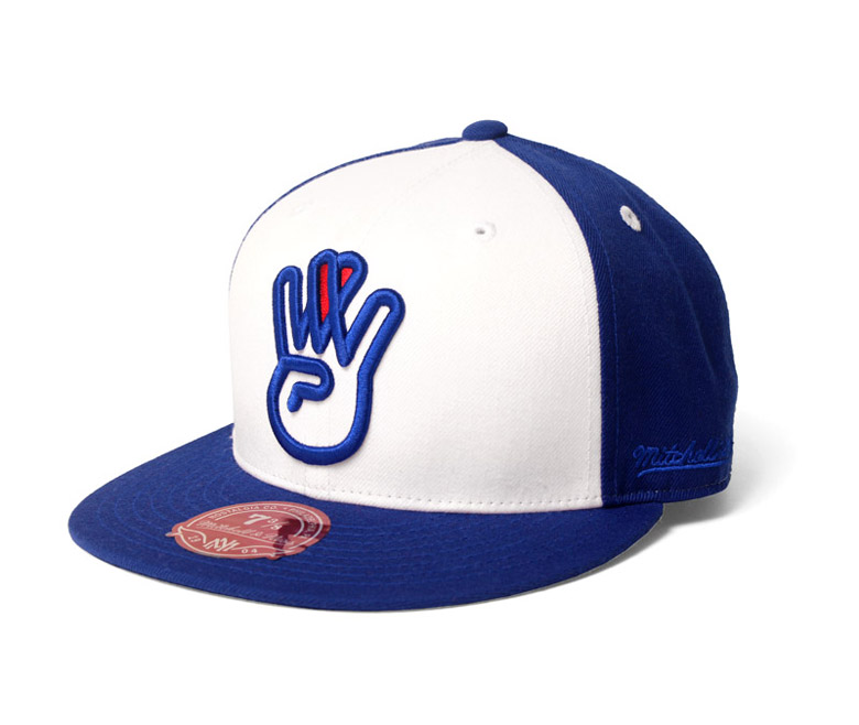 Westside Love™ royal/white fitted hat